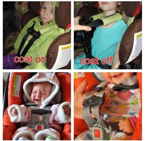 Parents, Please Use The Car Seat Correctly This Winter!